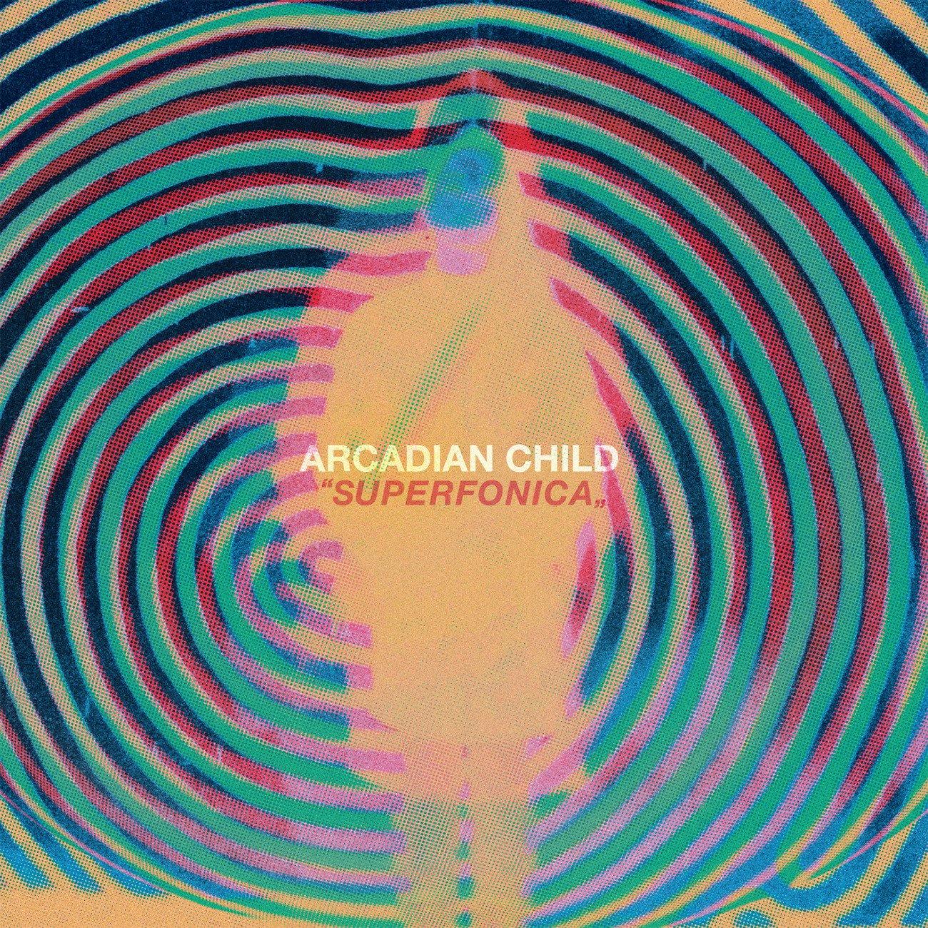 "Image of Arcadian Child - Superfonica ""Super Black"" Black Vinyl LP"
