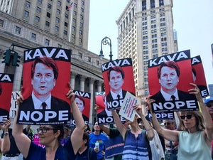 Image of KavaNope Protest Poster