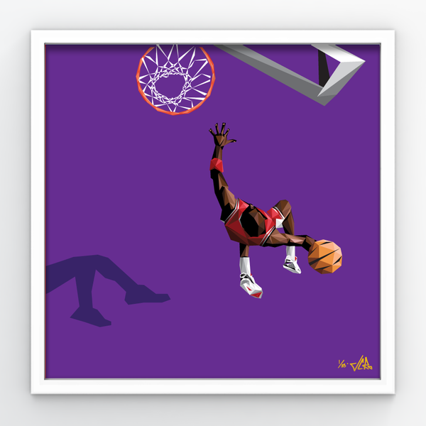 "Image of JCRo - Float GRAPE - limited edition 20"" print"