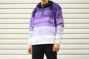 Image of Purple Gradient Anorak