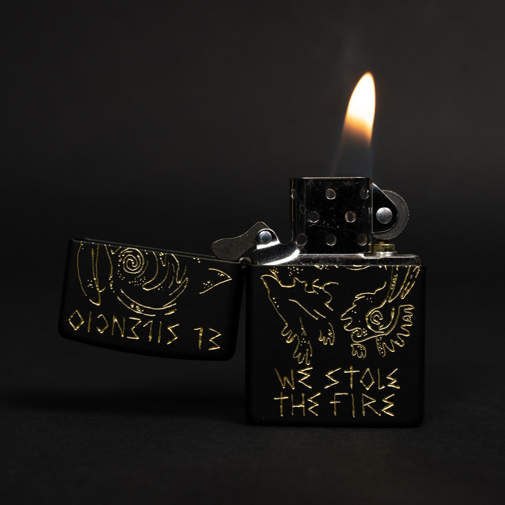 Image of Engraved Zippo Fuego