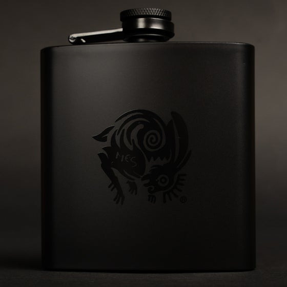 Image of MES Logo Hip Flask