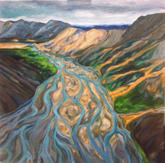 Image of Riverbend - Oil on canvas