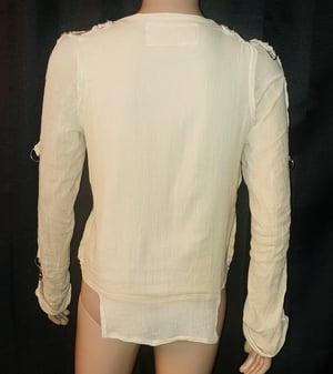 Image of Boobs gauze bondage shirt