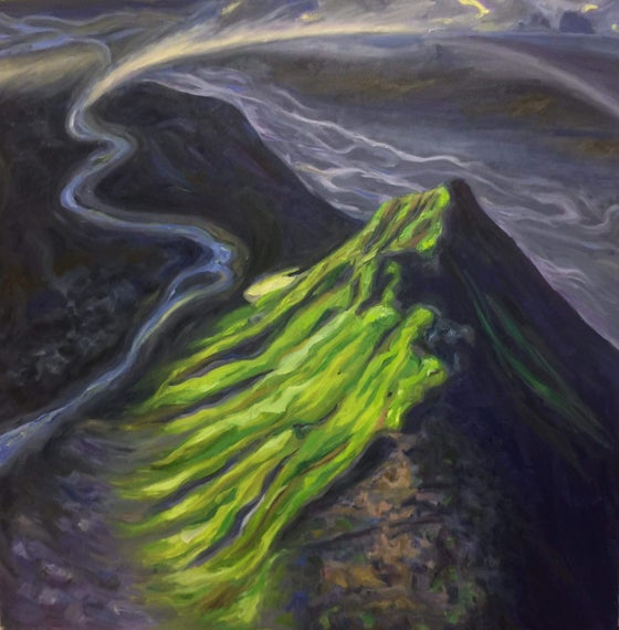 Image of Mælifell - Oil on canvas