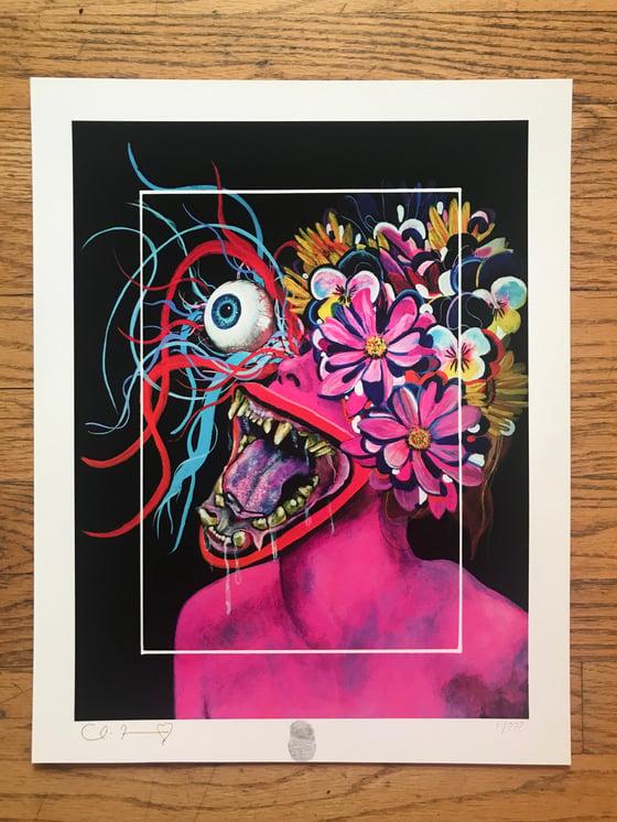 "Image of ""Migraine"" 13""x16.5"" Giclee Fine Art Print"