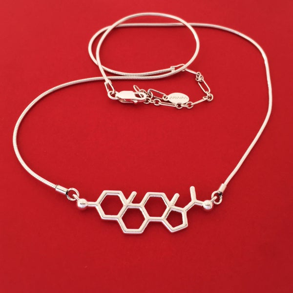 Image of progesterone necklace