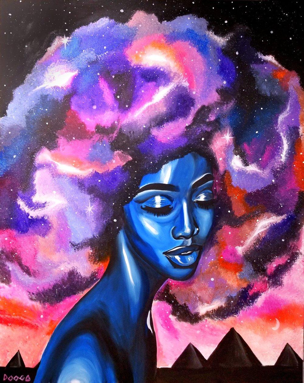 Image of Celestial Goddess