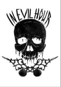 Image of NEHXC Skull (Back Print) - T Shirt (White)