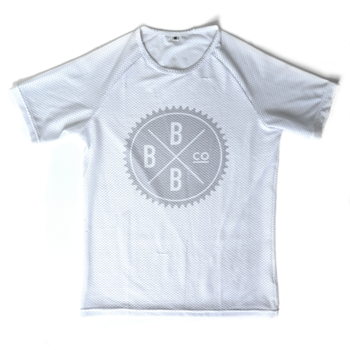Image of Mesh Base Layer - White