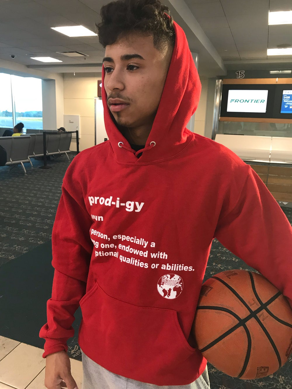 NEW BRAND PRODIGY Red Definition Hoodie