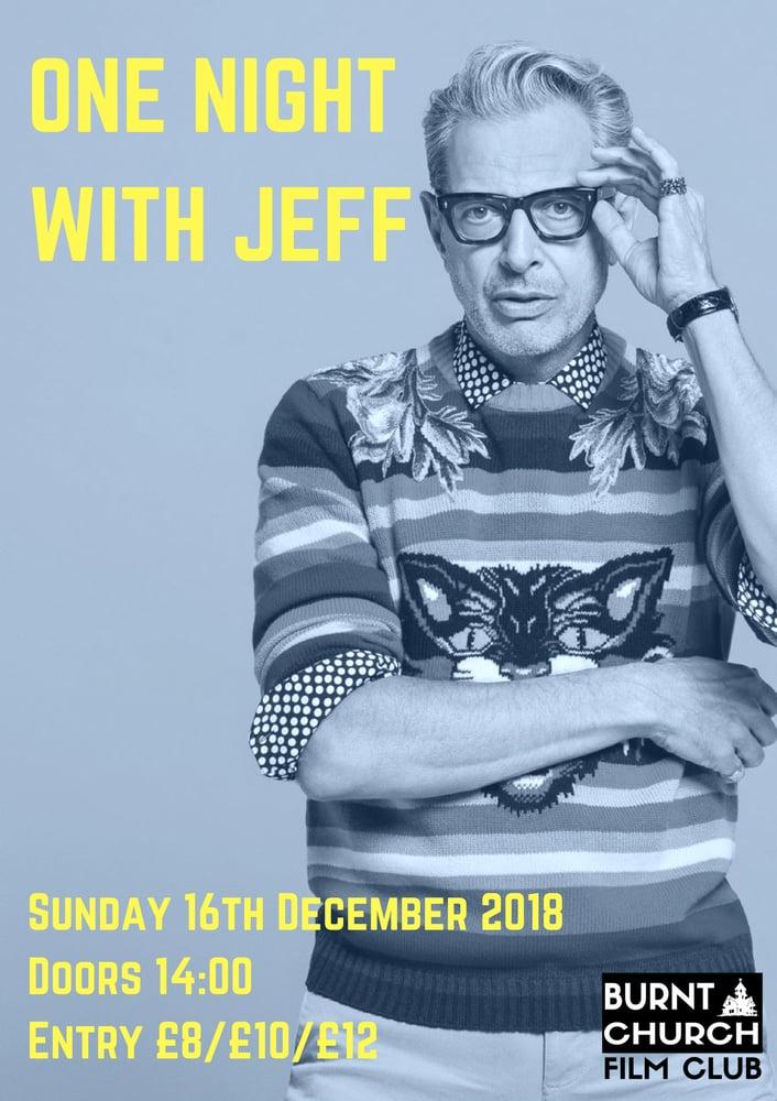 Image of A Night of Jeff Goldblum - Screening 16/12