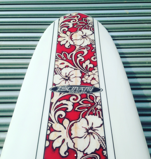 Image of Custom Longboard