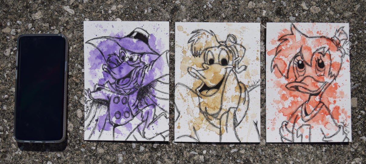Image of Darkwing Duck Character set