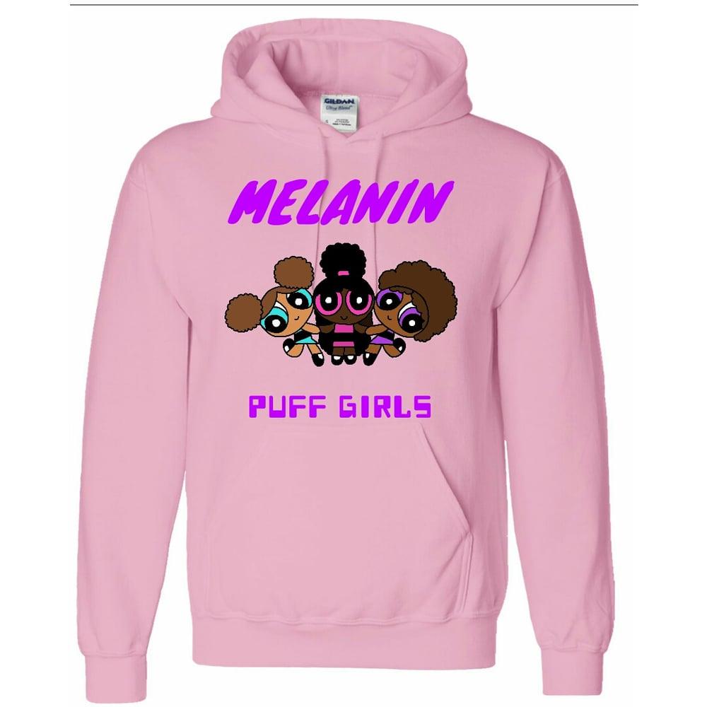 Image of MELANIN PUFF GIRLS Hoodie