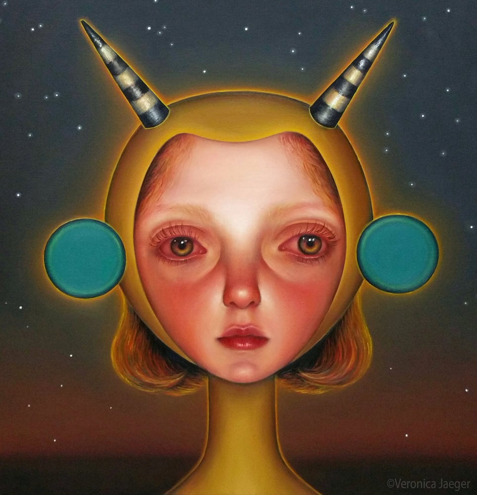 Image of Space Woman (giclee print)