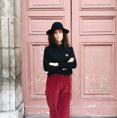 Pantalon Gabin bordeaux 115€ -50% - Maison Brunet Paris