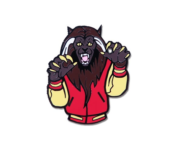 Image of Thriller Werewolf Hard Enamel Pin