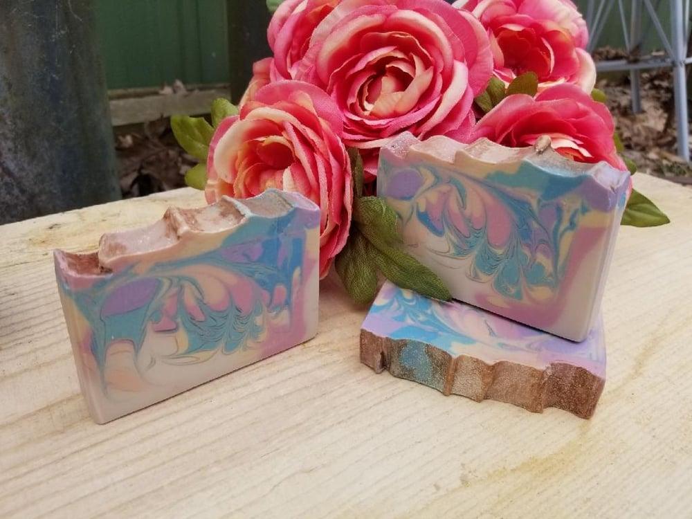 Image of Unicorn Cake Batter Artisan Goat Milk Soap