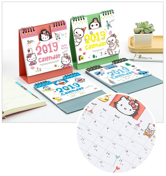 Image of 2019 Calendar (Six Assorted Designs)