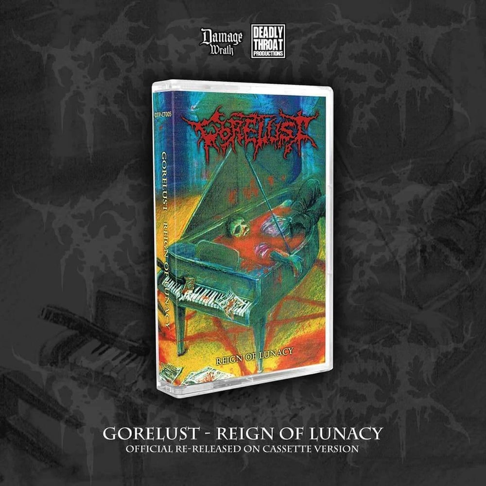 Image of GORELUST - Reign of Lunacy Tapes