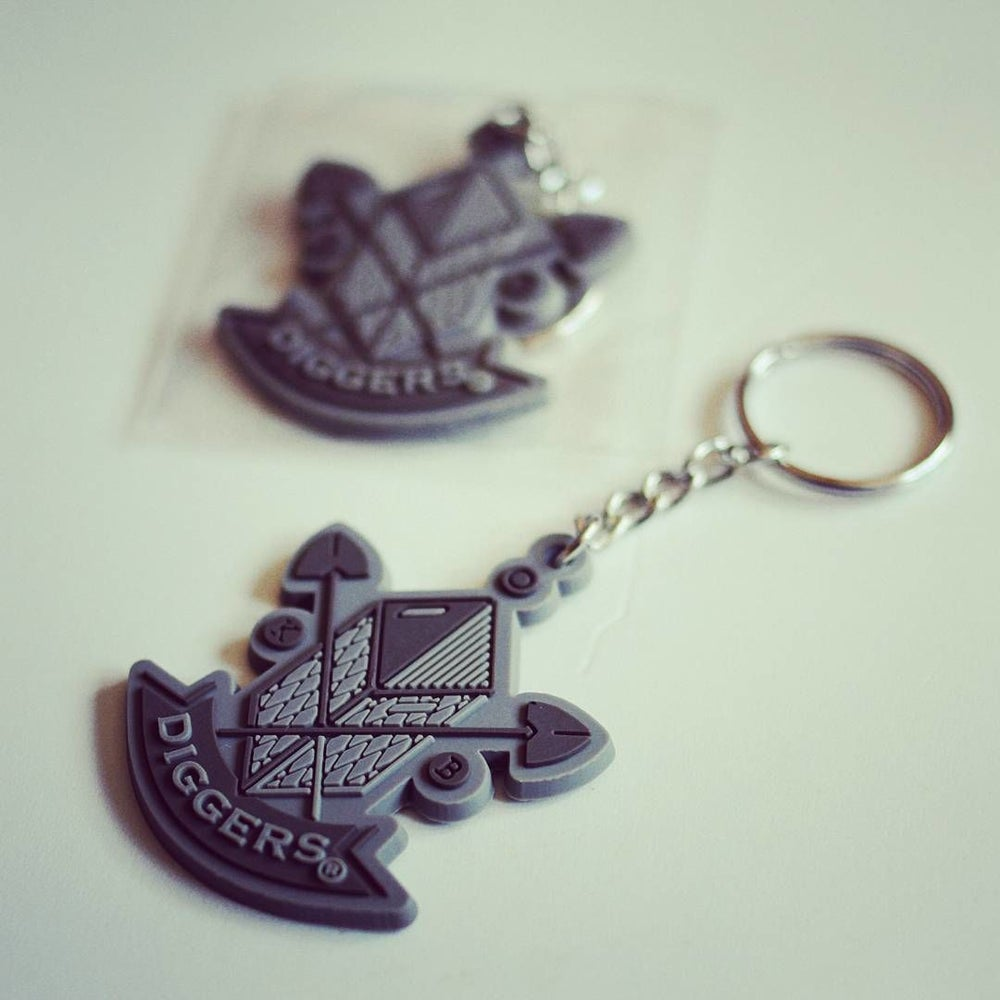Image of Diggers Key Ring