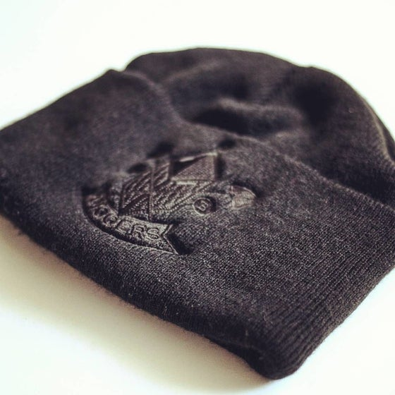 Image of Diggers Woolly Hat Black on Black