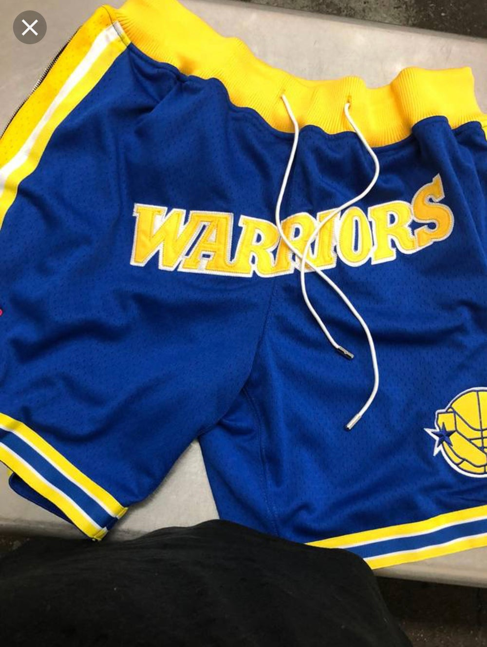 Image of Golden state warriors shorts