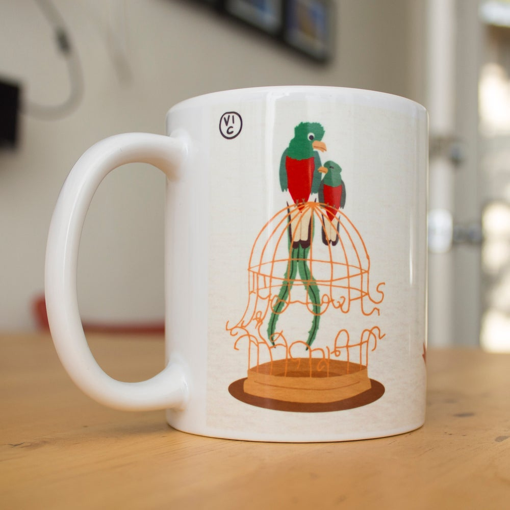 Image of Broken Cages Coffee Mug - Benefiting SALEF