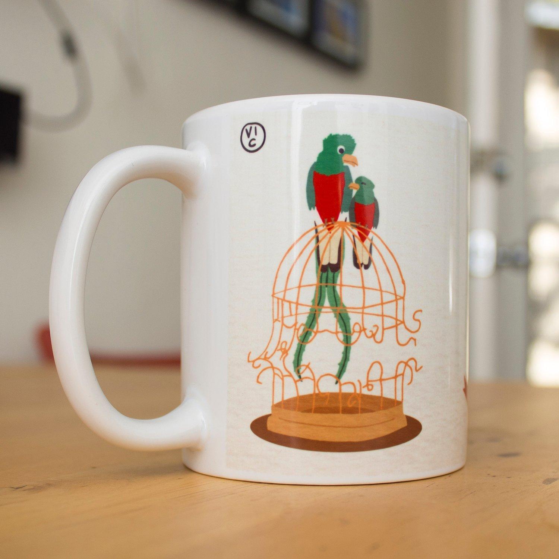 Image of Broken Cages Coffee Mug - Benefiting SALEF