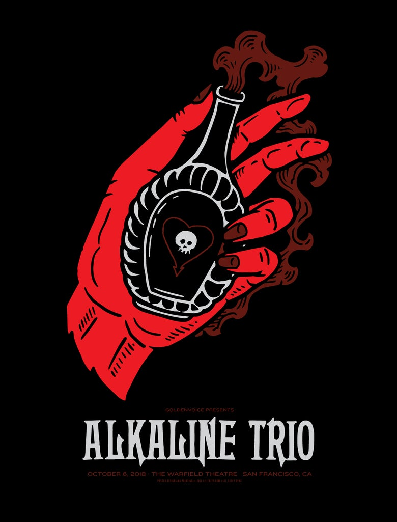 Image of Alkaline Trio - San Francisco 2018