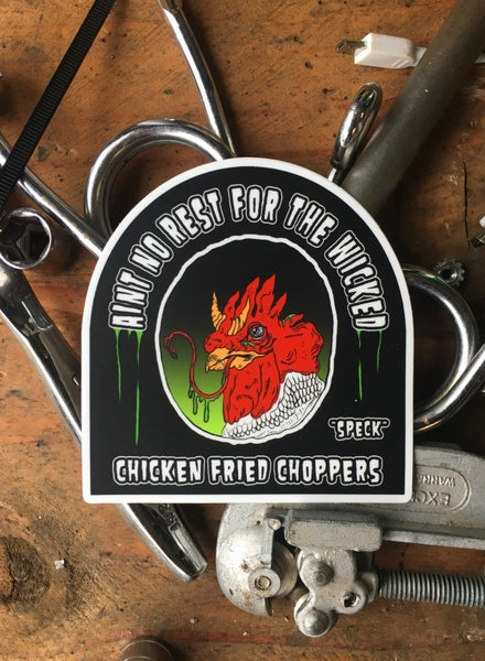 Image of Wicked Chicken [Sticker]