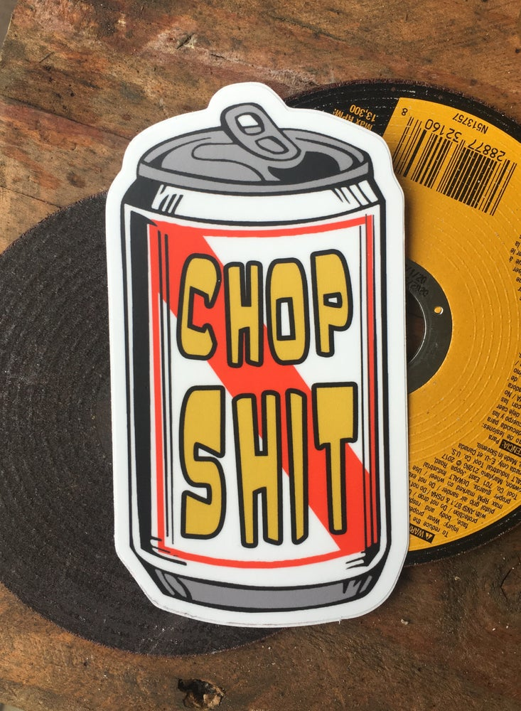 Image of Chop Shit Road Soda [Sticker]