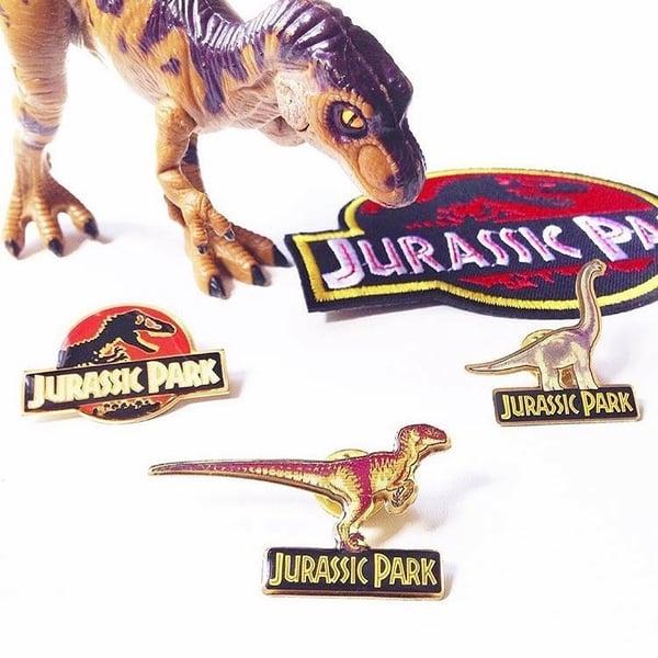 Image of Vintage Jurassic Park Pins