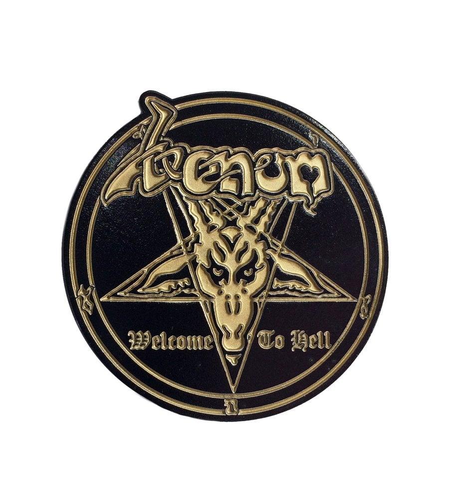 Image of Venom enamel pin