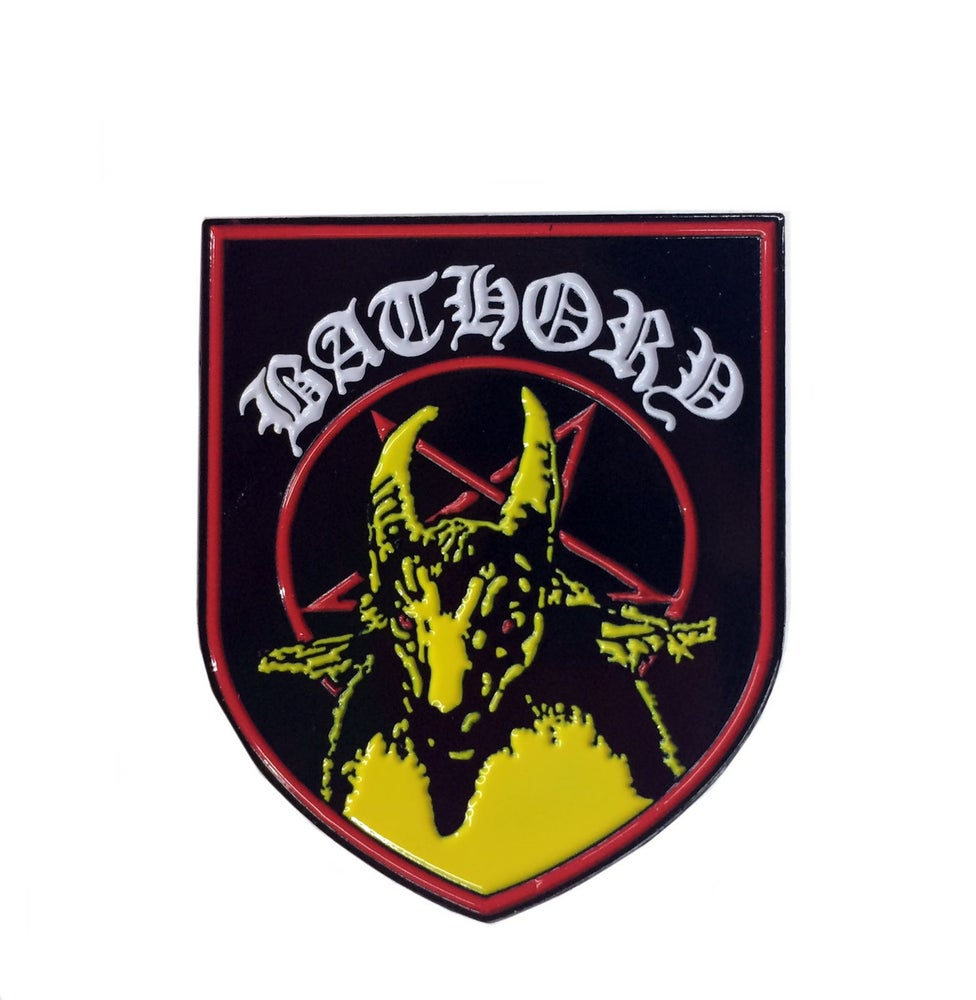 Image of Bathory enamel pin