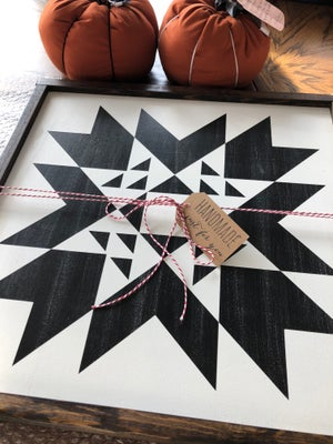 """Image of Indian Summer - 24"""" Farmhouse Barn Quilt"""