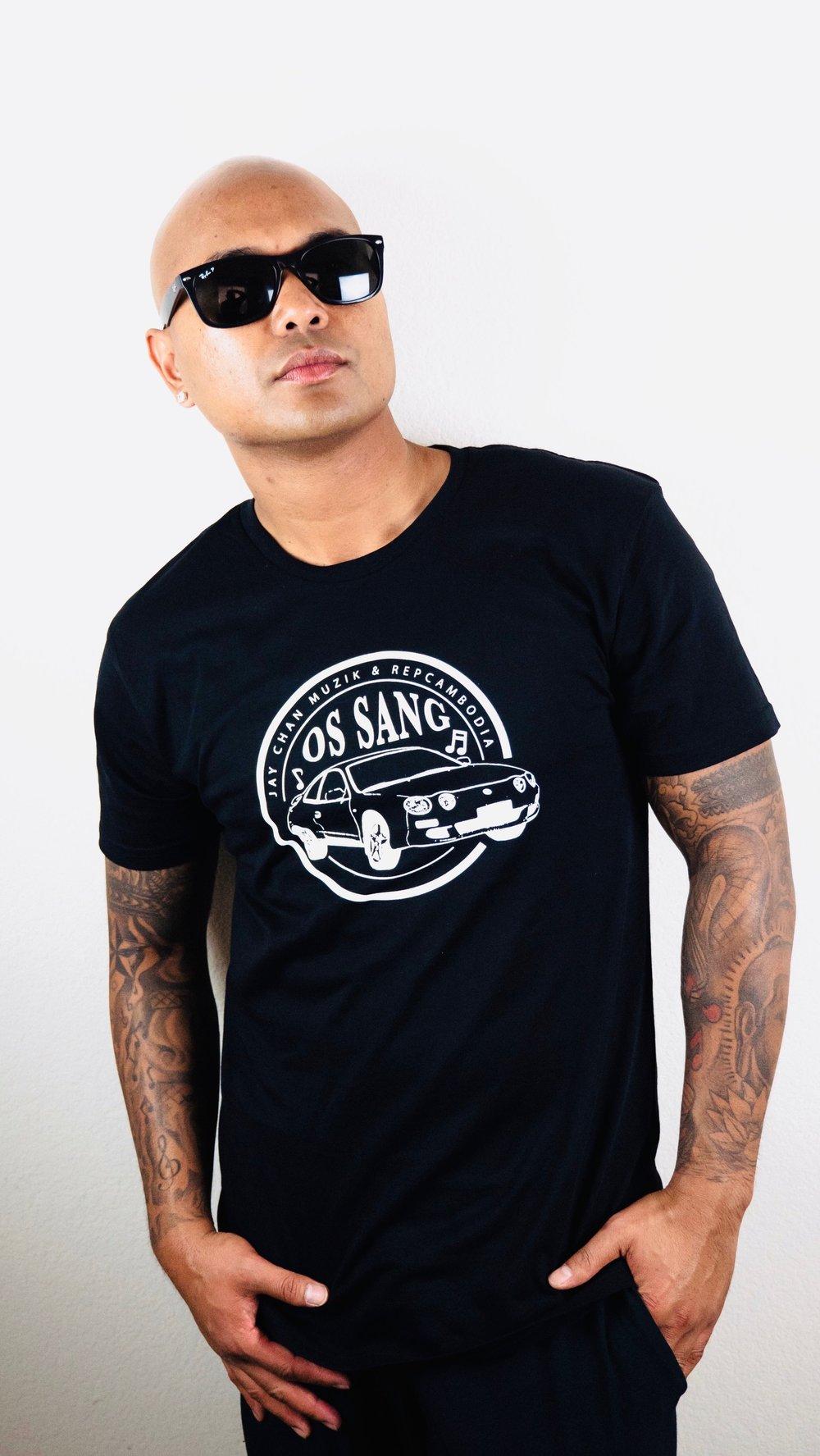 Image of Jay Chan Muzik X  RepCambodia OS SANG Collab Shirt