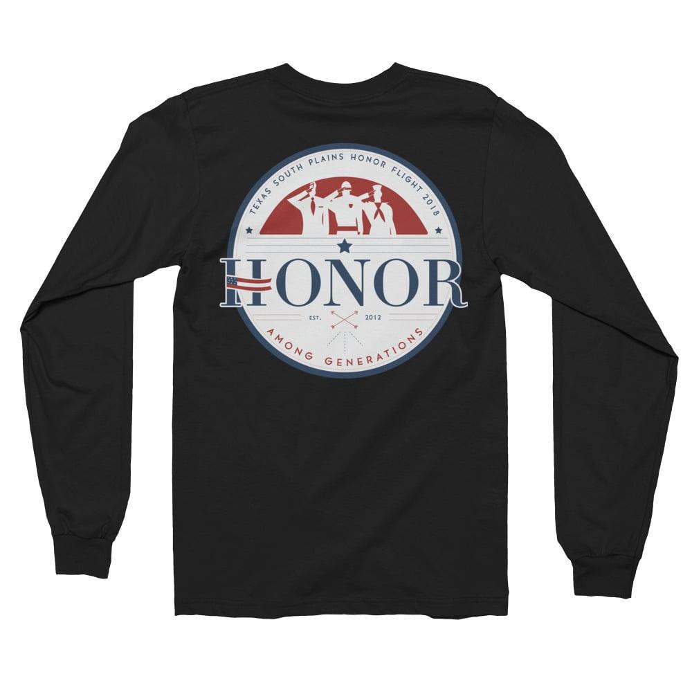 Image of Honor Among Generations Long Sleeve Black