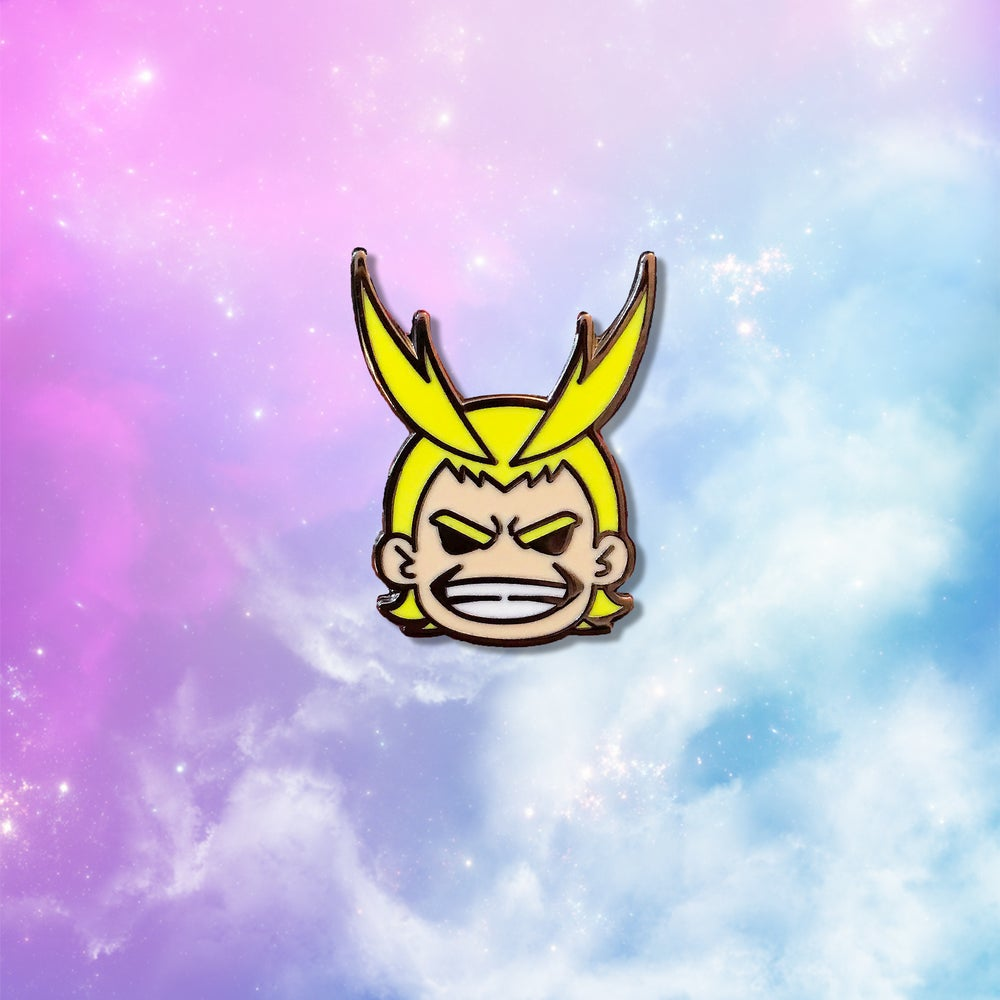 Image of Chibi All Might Pin