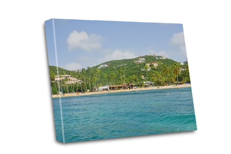 Image of Island shore canvas