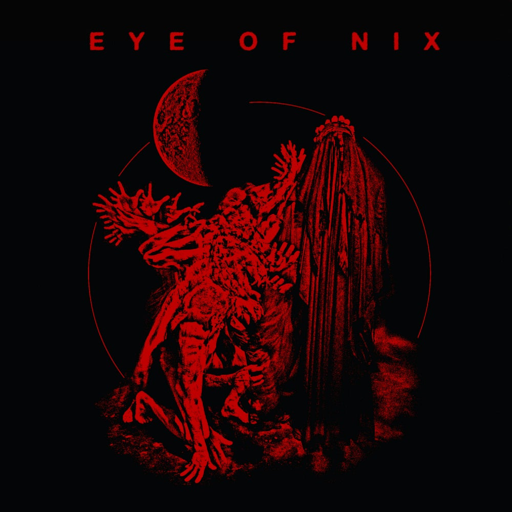 Image of Eye of Nix - limited T-Shirt - Black Somnia red