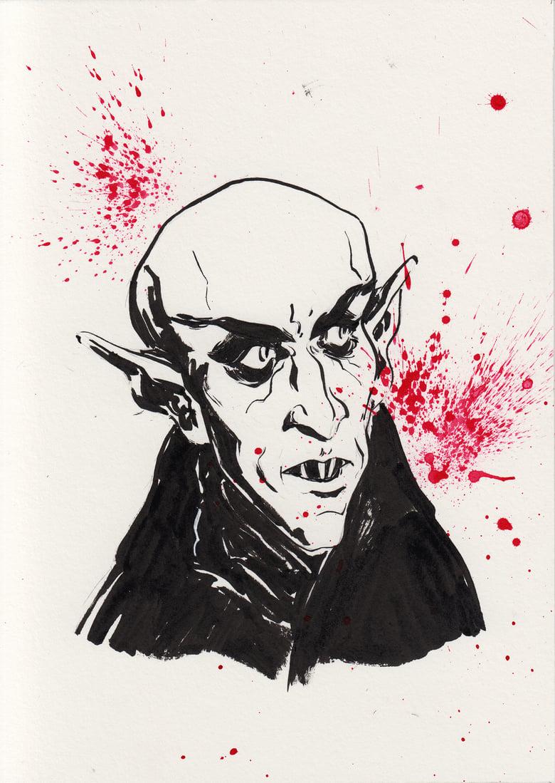 Image of Inktober 2018 - Nosferatu