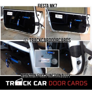 Image of Ford Fiesta Mk 7 & 7.5  - Full OEM replacement Track Car Door Cards