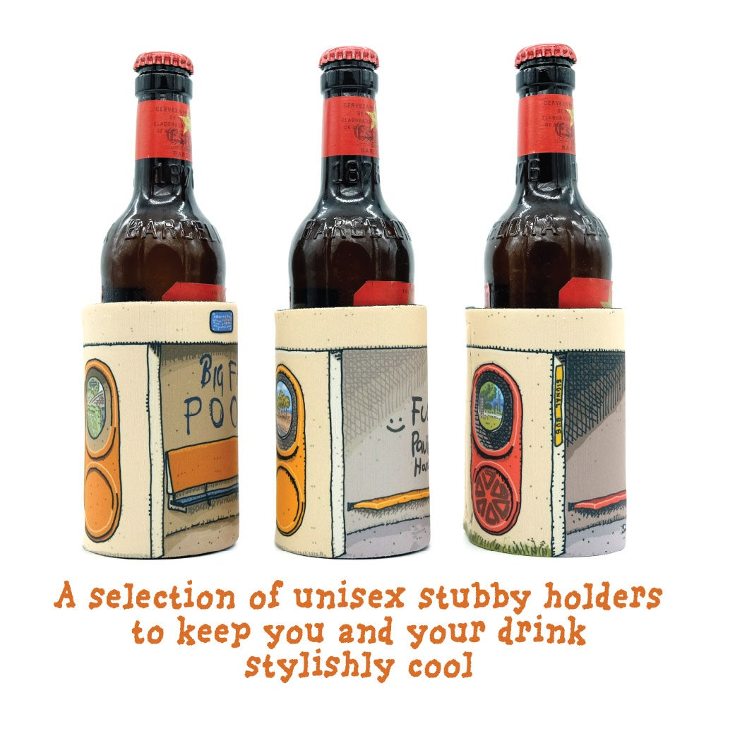 Image of Bus Shelter Stubby Holders
