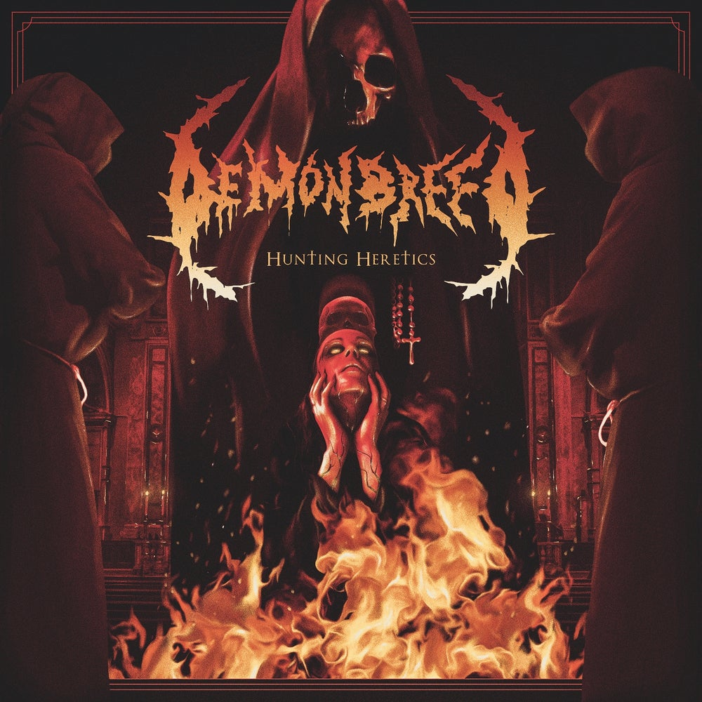 Image of Demonbreed • Hunting Heretics (Hand-Numbered CD Digipak)