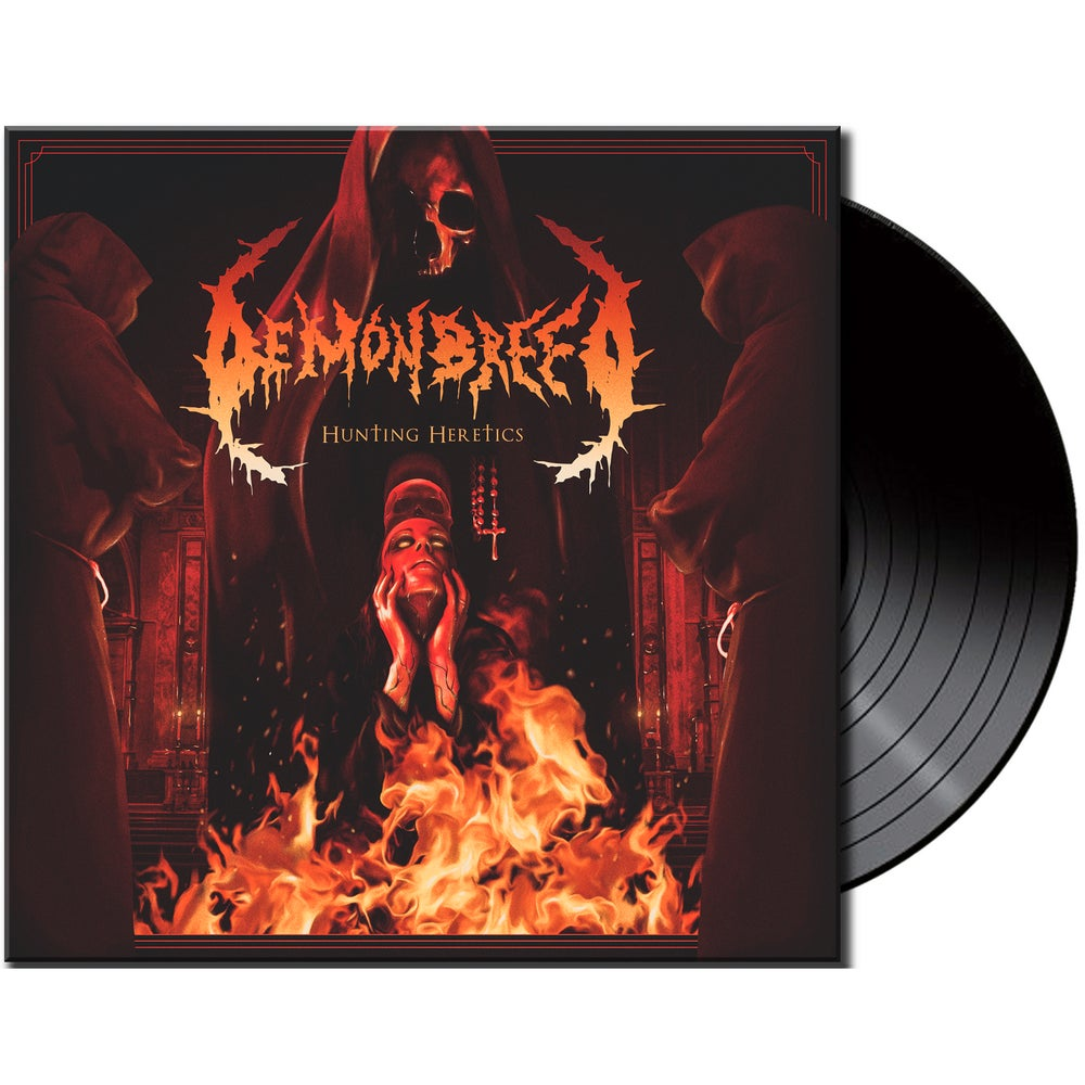 Image of Demonbreed • Hunting Heretics (Black Vinyl)