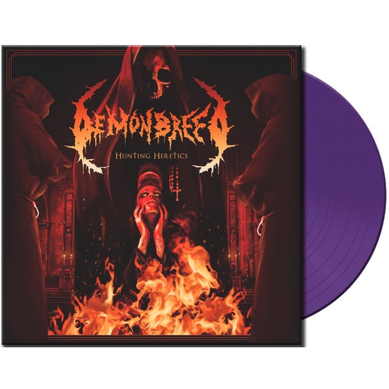 Image of Demonbreed • Hunting Heretics (Ltd. Purple Vinyl)