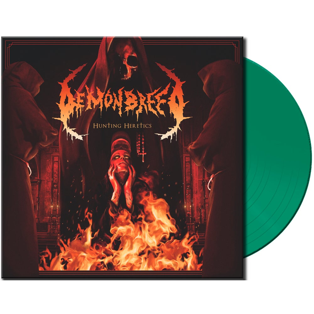 Image of Demonbreed • Hunting Heretics (Ltd. Transparent Green Vinyl)