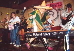 Image of Dodgy Derek's Desert Drive-in Dunk-a-Doughnut Stand. The Killer Rabbits.